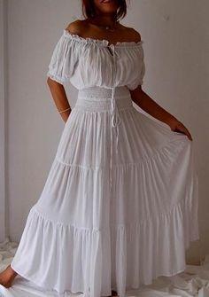 Puebla Dress Clipart.