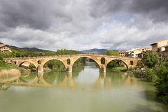 Puente La Reina Bridge Over The Arga River. Puente La Reina.