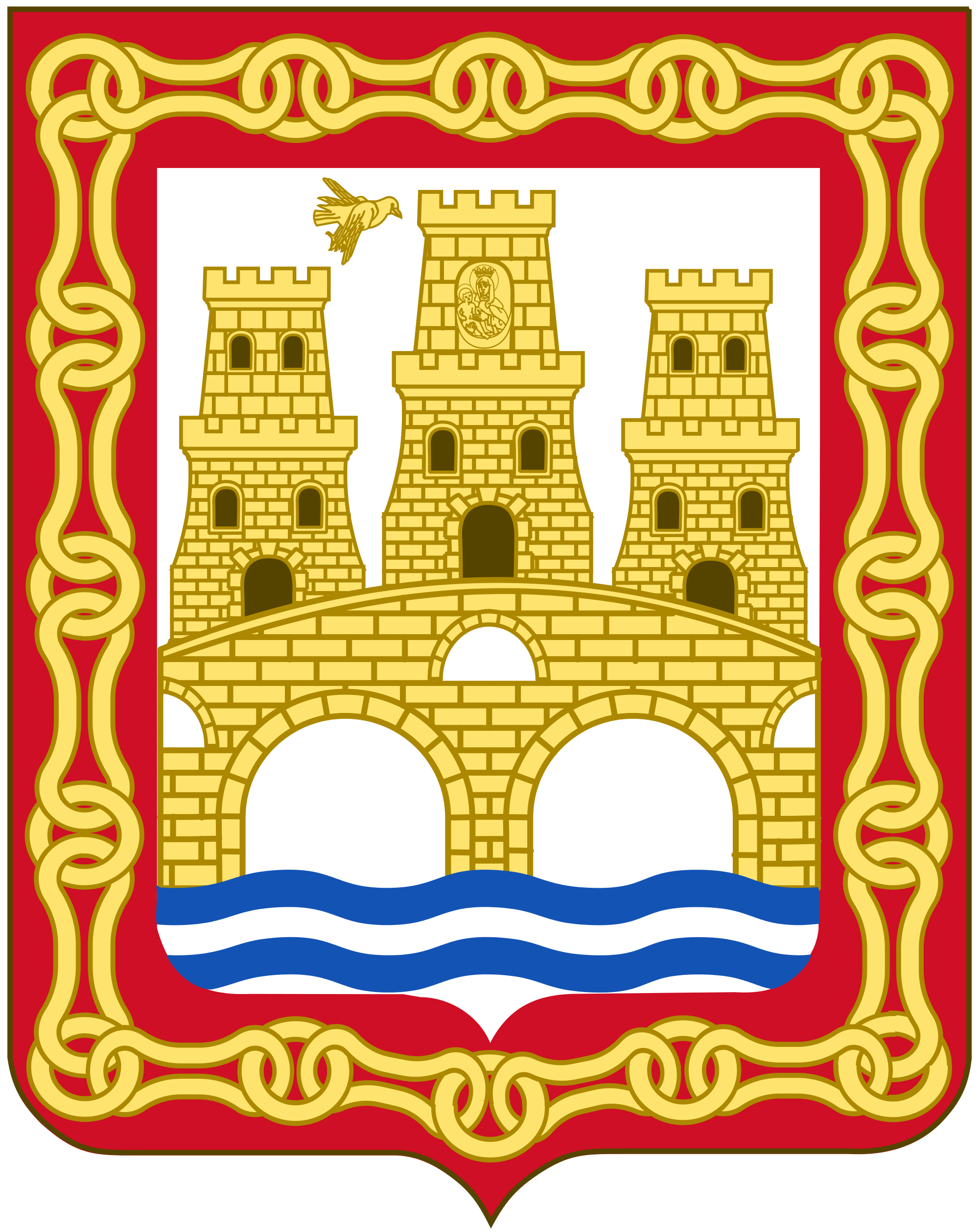 File:Coat of Arms of Puente La Reina.svg.