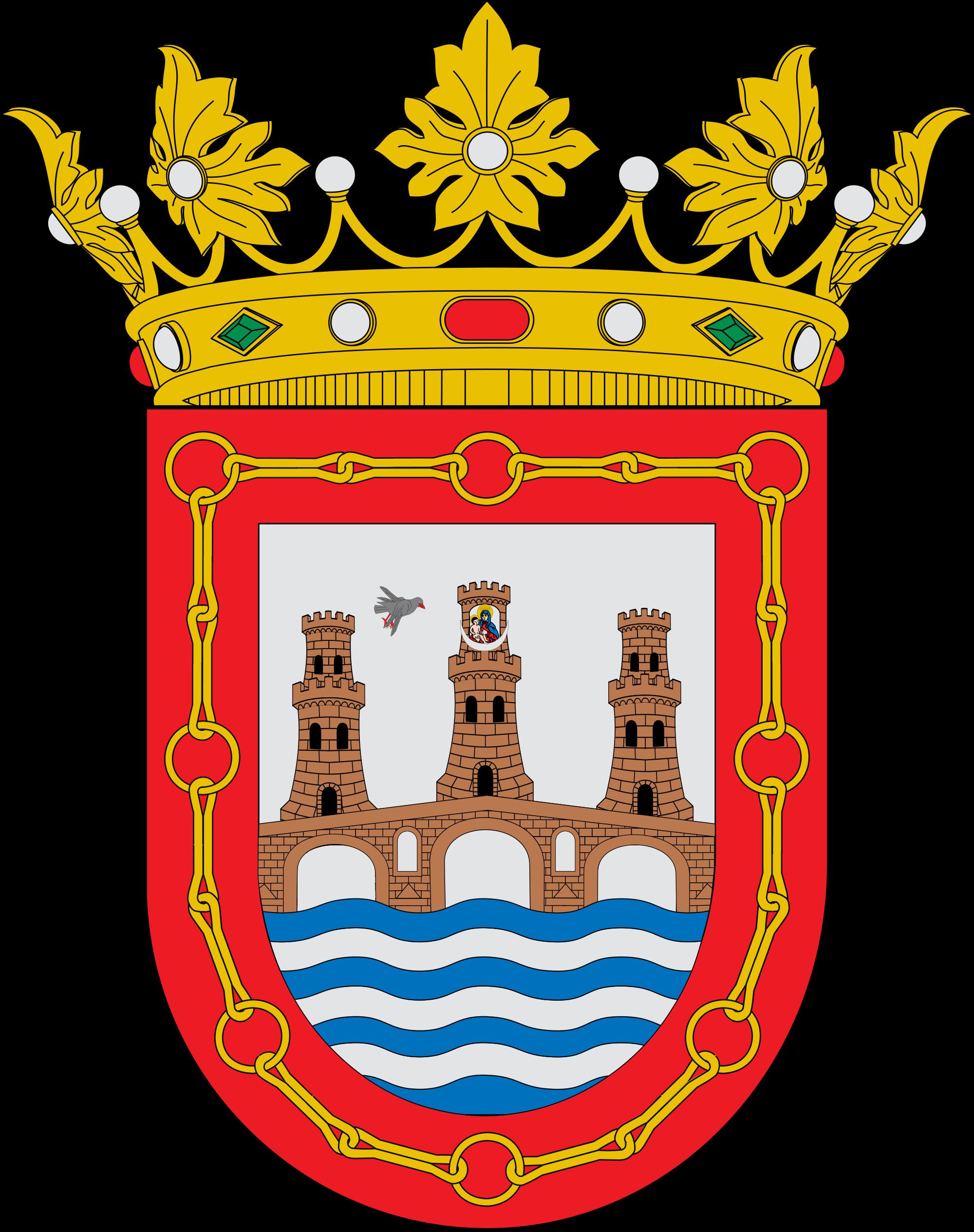 File:Escudo de Puente la Reina.svg.