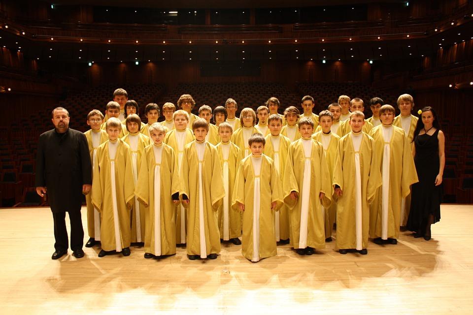 Free photo: Czech Republic, Pueri Boys Choir.