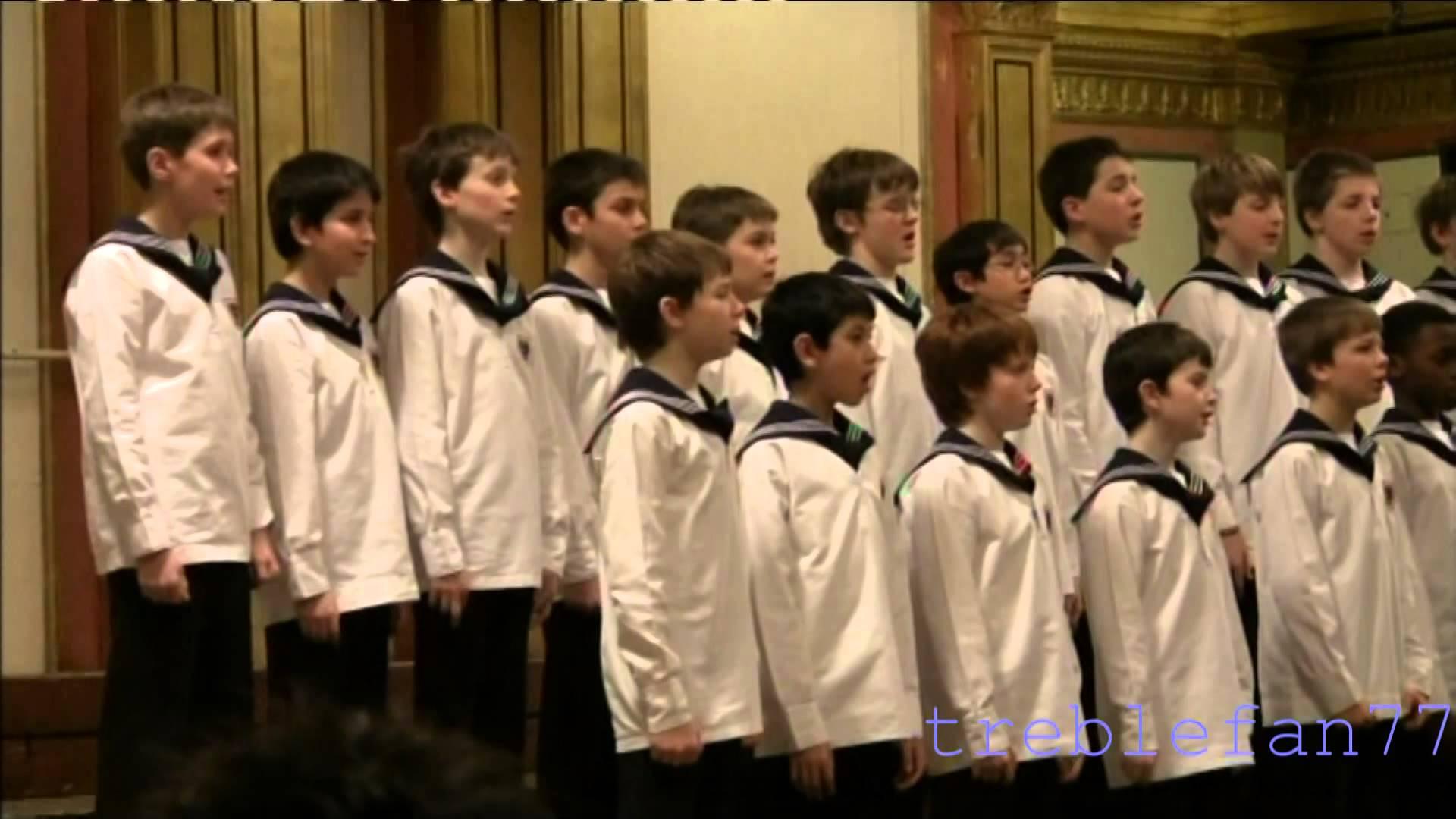 Vienna Boys´ Choir (March 17, 2009) Herbeck, Pueri concinete.