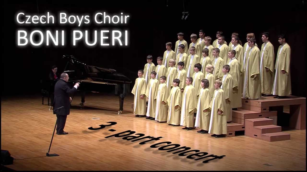 Concert of the Czech Boys Choir BONI PUERI.