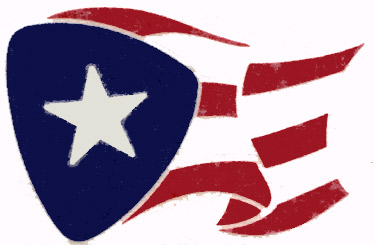 Puerto Rico Flag Vector.