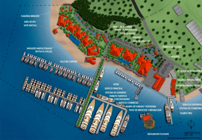 Golfito Marina project in Costa Rica expected to open this year.