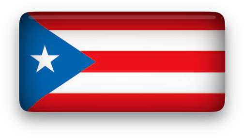 Free Animated Puerto Rico Flags.