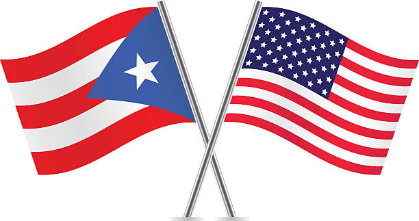Puerto Rican Flag Clipart.