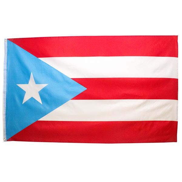 Puerto Rican Flag (Sky.