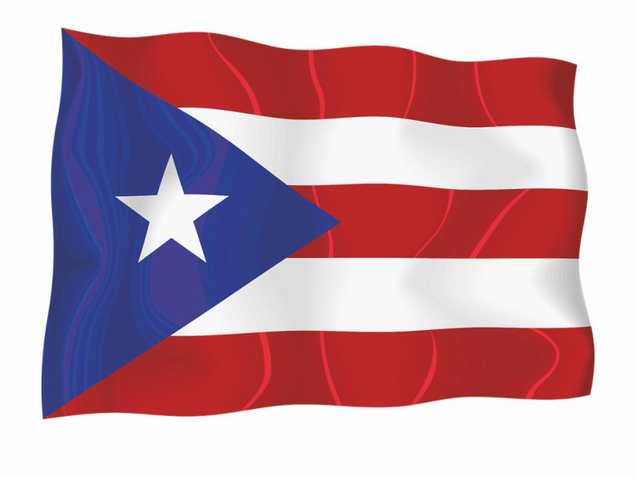 Bandera De Puerto Rico Png.
