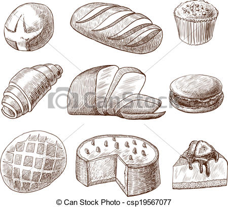 Clipart puff pastry.