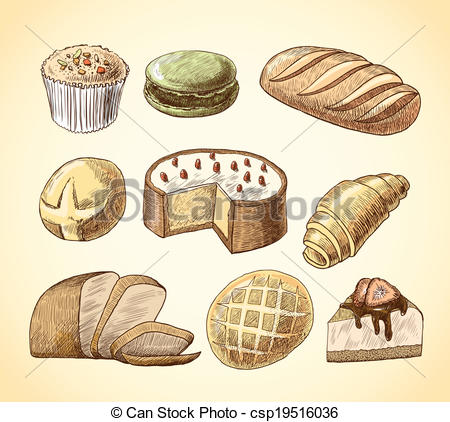 Puff pastry Stock Illustrations. 254 Puff pastry clip art images.