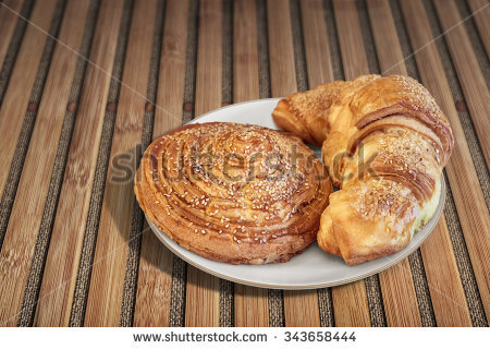 Puff Pastry Snail Stock Photos, Royalty.