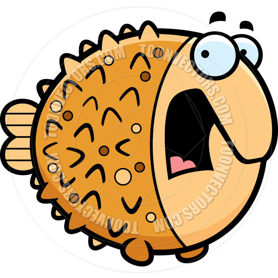 Puffer Fish Clipart.
