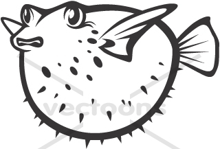 puffer fish clipart #70.
