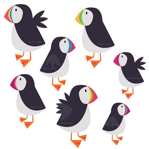Clipart Puffin.