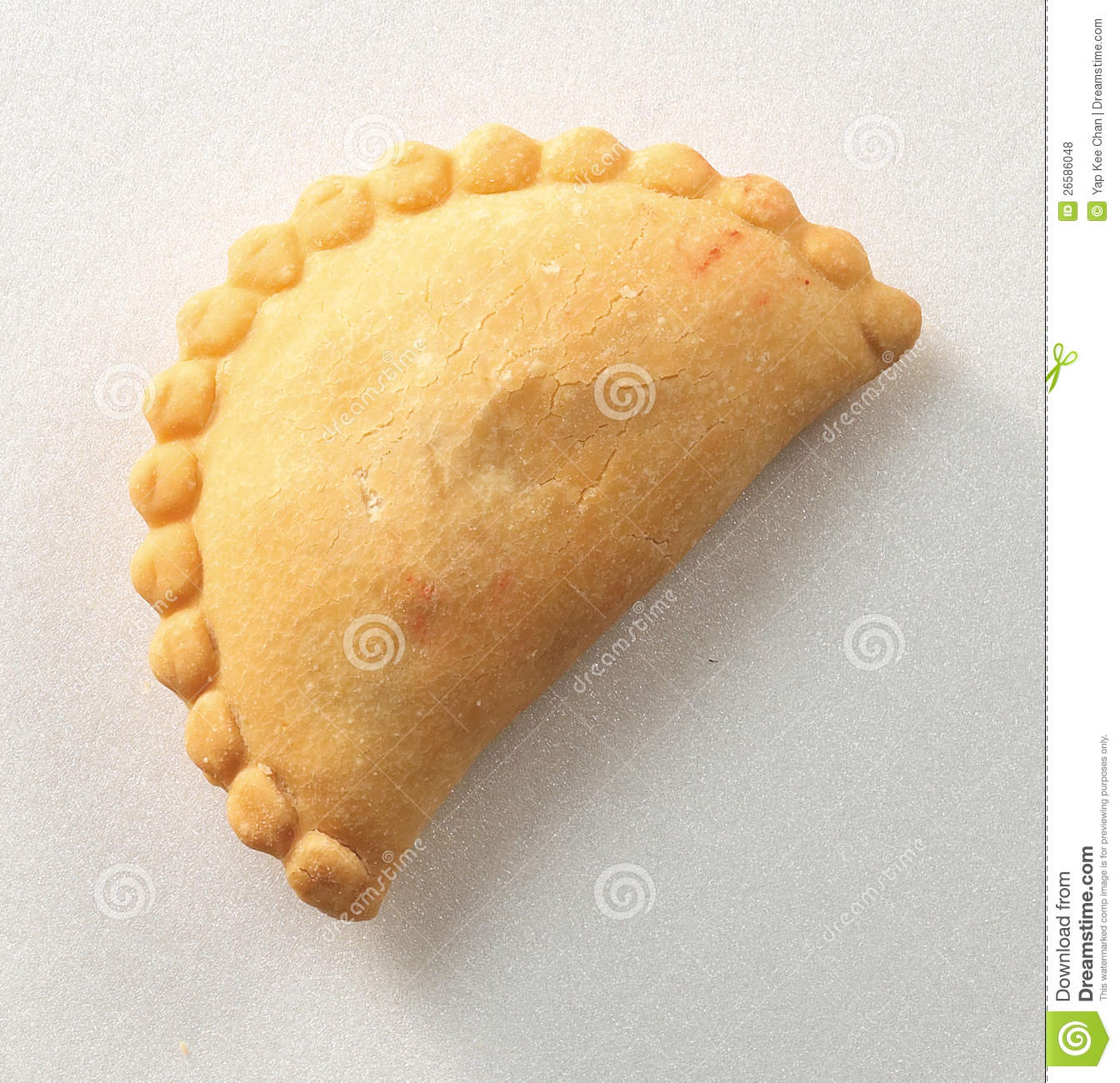 Curry Puff Clipart.