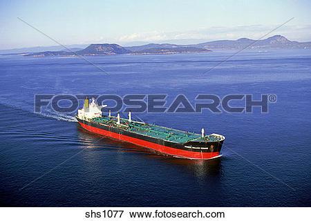 Picture of Oil Tanker/Puget Sound/Northwest Washington shs1077.