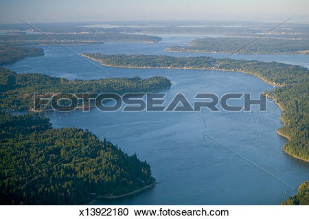 Stock Photography of USA, Washington, Thurston County, south Puget.