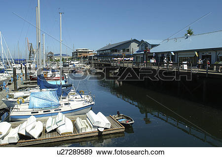 Stock Photograph of Olympia, WA, Washington, Puget Sound, Percival.