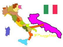 Puglia Stock Illustrations.