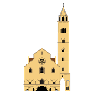 Cattedrale di Trani clipart, cliparts of Cattedrale di Trani free.