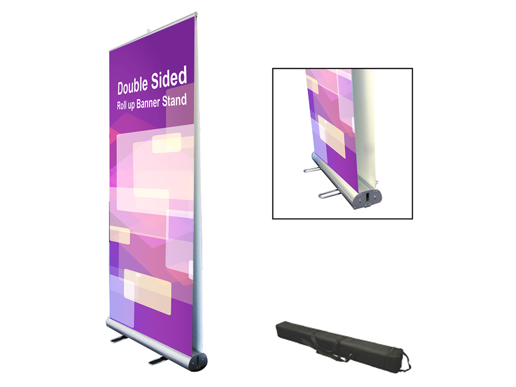 Double Sided Pull Up Banner Printing.