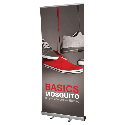 2m Wide Roll Up Banner.
