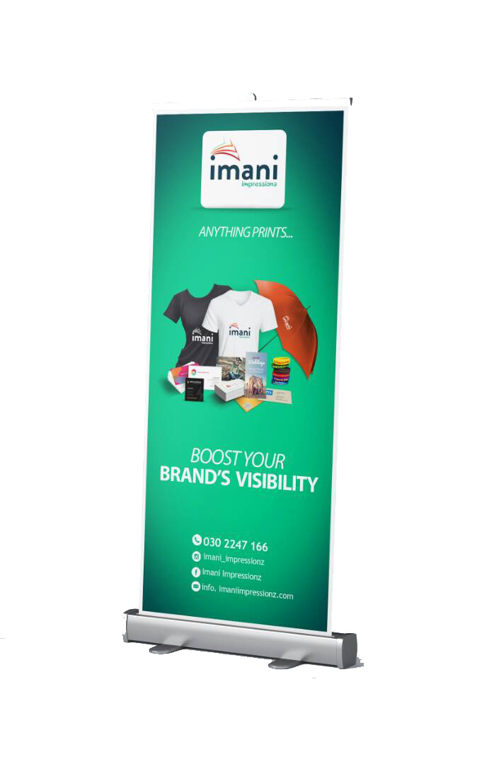 Pull Up Banner.