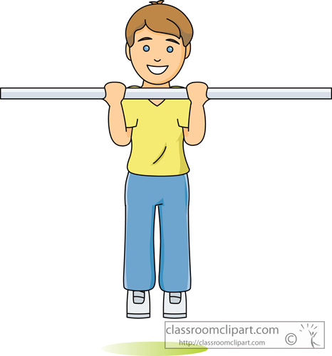 Pull ups clipart.