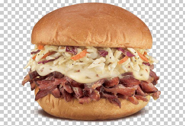 Coleslaw Pulled Pork French Dip Submarine Sandwich Cuisine.