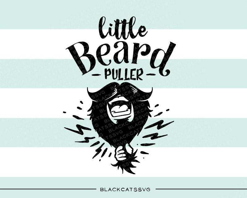 Little beard puller svg file Cutting File Clipart in Svg, Eps, Dxf.