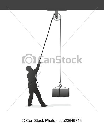 Pulley Illustrations and Clip Art. 724 Pulley royalty free.