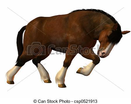 Clip Art Horse Pull Clipart.