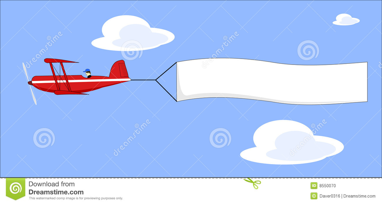 Pulling Plane Clipart Clipground