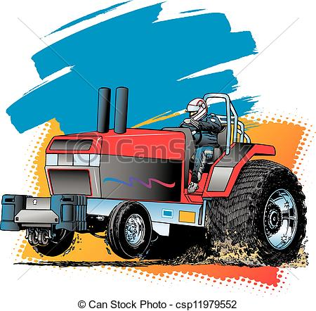 Tractor pulling Illustrations and Clip Art. 57 Tractor pulling.