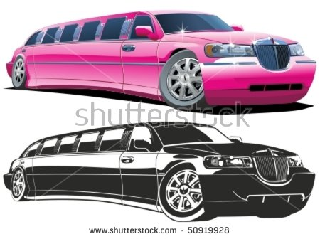 Limo Service Stock Photos, Royalty.