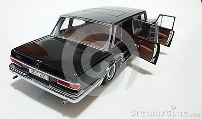 Mercedes Benz S600 Pullman LWB Limousine Editorial Stock Photo.