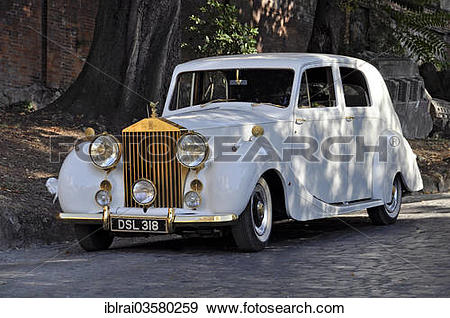 "Stock Photograph of ""Vintage Rolls."