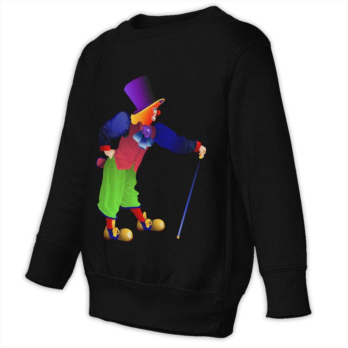 Amazon.com: Toddler Juvenile Sweatshirt Clown Transparent.
