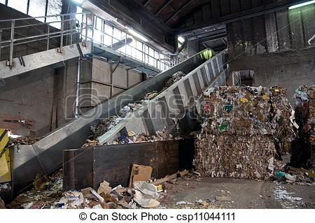 Stock Photography of Paper and pulp mill.