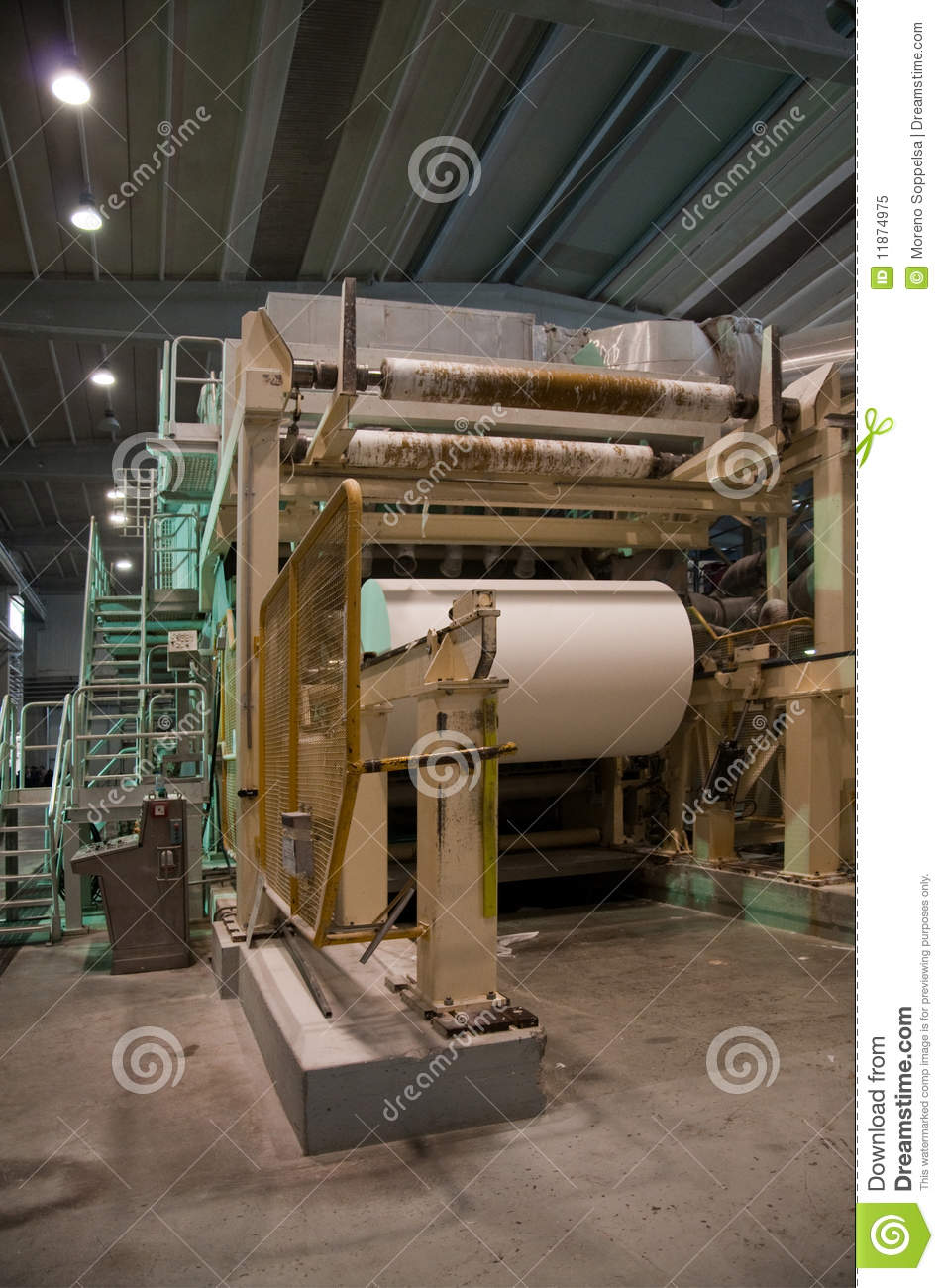 Paper And Pulp Mill.
