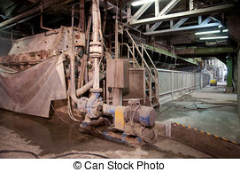 Stock Images of Paper and pulp mill.