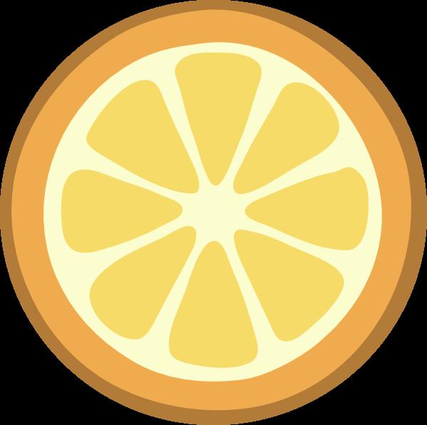 Orange Pulp Clip Art at Clker.com.