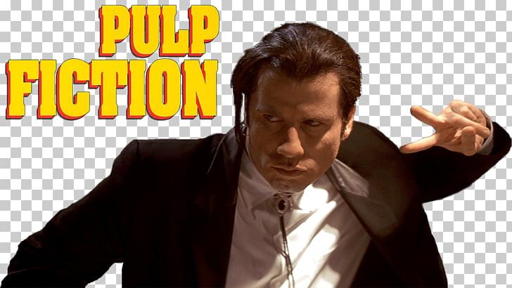 Large Txt Pulp Fiction, John Travolta PNG clipart.