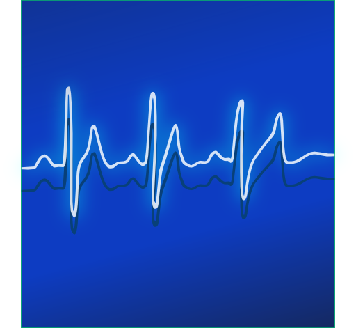 Medical Pulse Clipart.