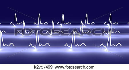 Stock Illustration of Pulse Trace k2757499.