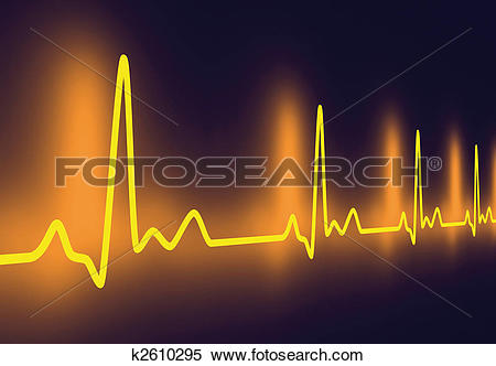 Stock Illustration of Pulse trace k2610295.