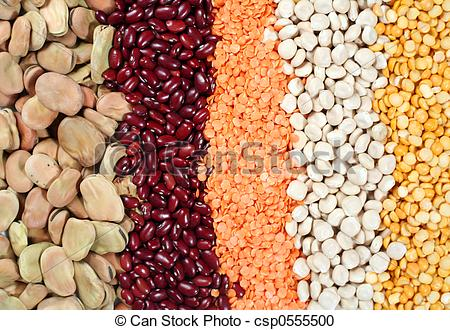 Stock Photography of Pulses.