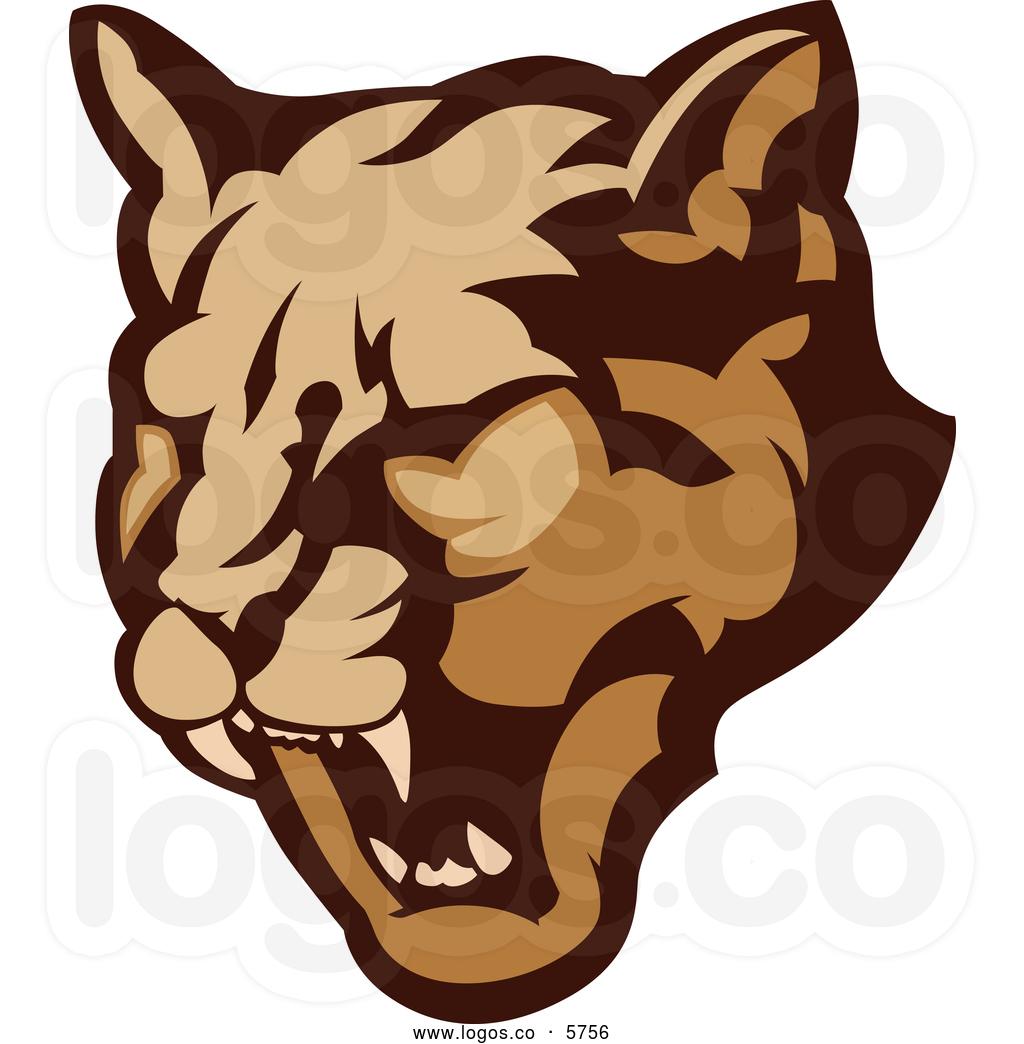 Puma Head Clipart.