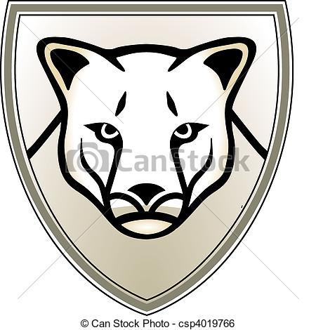 Puma clip art.
